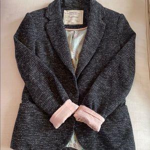Anthropologie Women's Tweed Blazer XSmall